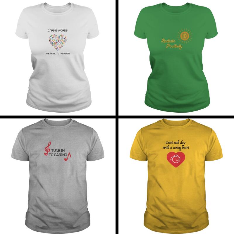 Caring t-shirts