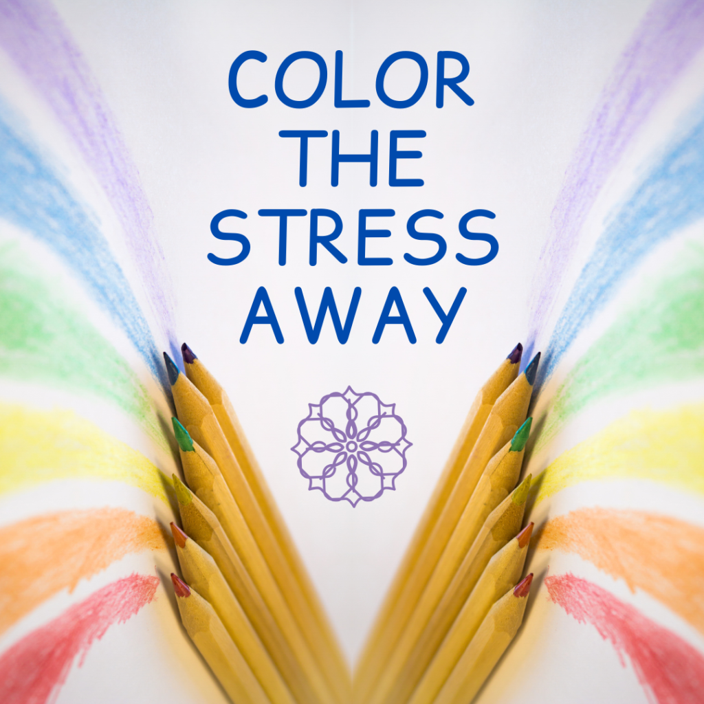 Color the Stress Away