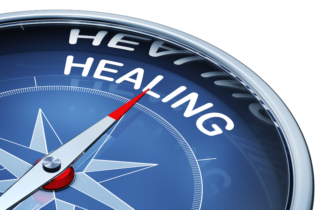 healing direction on compass